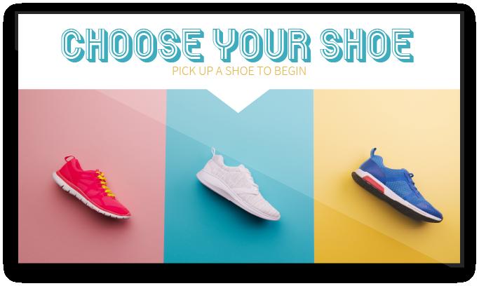 Choose Your Shoe Screen